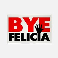 Bye Felicia Hand Wave Rectangle Magnet