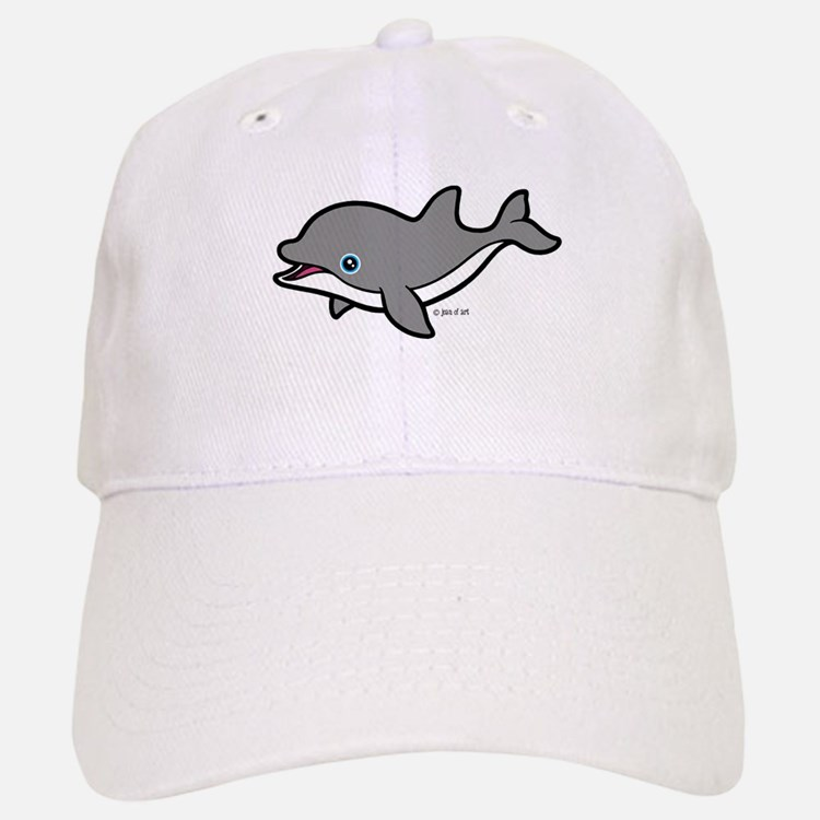 Dolphin (2) Baseball Baseball Cap