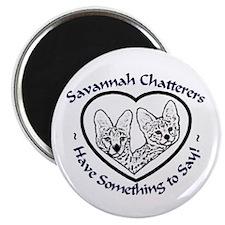 Savannah Chatters Magnet