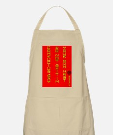 Don't Shit In Your Own Nest BBQ Apron