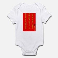 Don't Shit In Your Own Nest Infant Bodysuit