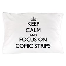 Cute Comic strip Pillow Case
