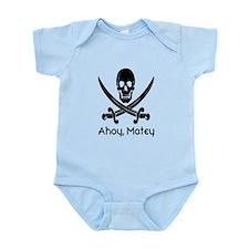 Ahoy, Matey (black) Body Suit
