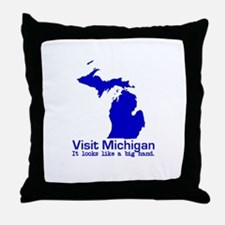 Visit Michigan . . . It Looks Throw Pillow