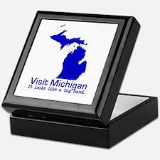 Visit Michigan . . . It Looks Keepsake Box