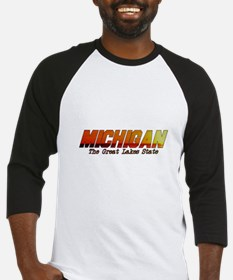 Michigan . . . The Great Lake Baseball Jersey