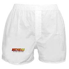 Michigan . . . The Great Lake Boxer Shorts