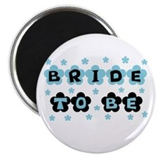 Blue Bride to Be Magnet
