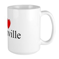 """I Love Greenville"" Mug"