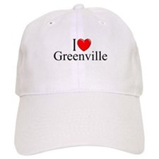 """I Love Greenville"" Baseball Cap"
