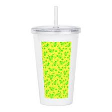 Green Yellow Fellow Acrylic Double-Wall Tumbler