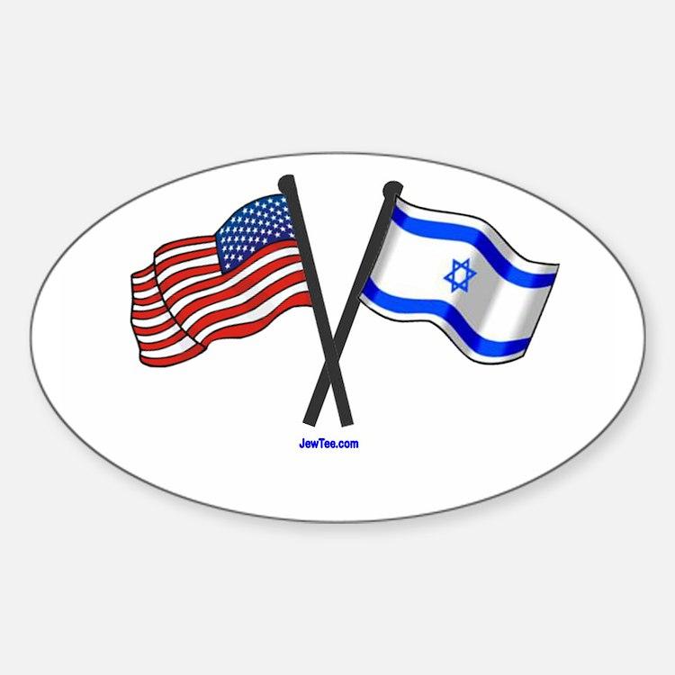 Cute Israel usa Decal