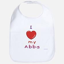 Jewish Kids Love Abba Bib