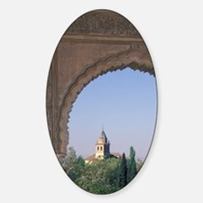 Viewed through arch in Generalife G Decal