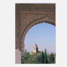 Viewed through arch in Ge Postcards (Package of 8)