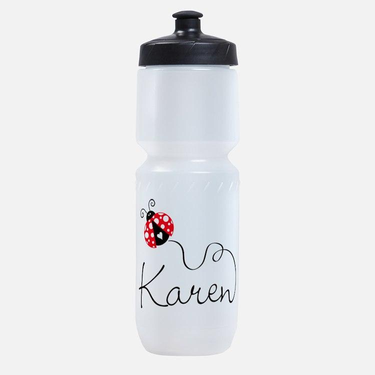 Ladybug Karen Sports Bottle