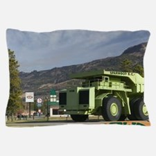 World's Biggest Truck. Carries 350 Ton Pillow Case