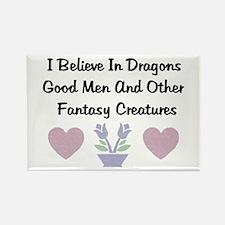 Fantasy Creatures Rectangle Magnet