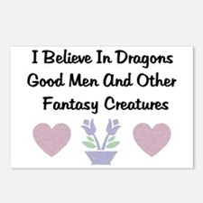 Fantasy Creatures Postcards (Package of 8)