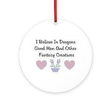Fantasy Creatures Ornament (Round)