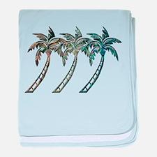 Unique Tropical baby blanket