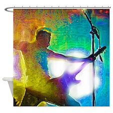 Rock! Shower Curtain