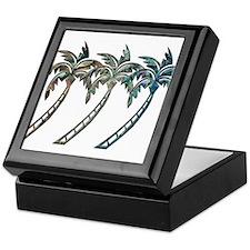 Cute Palm trees Keepsake Box