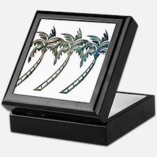 Unique Tropical Keepsake Box