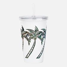 Cute Tropical Acrylic Double-wall Tumbler