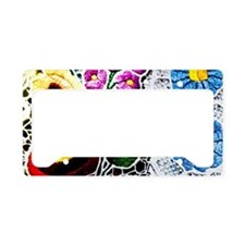Hungary; Kalocsa embroidery a License Plate Holder