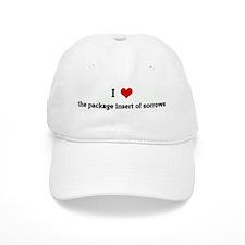 I Love the package insert of Baseball Cap
