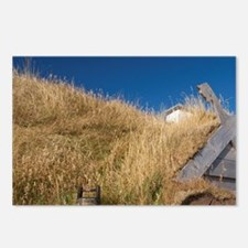 L'Anse Aux Meadows. Archa Postcards (Package of 8)