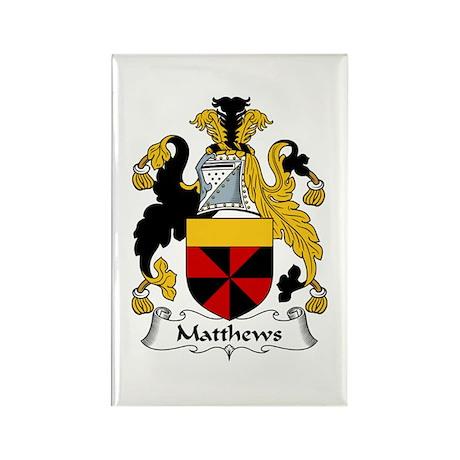 Matthews Rectangle Magnet (100 pack)