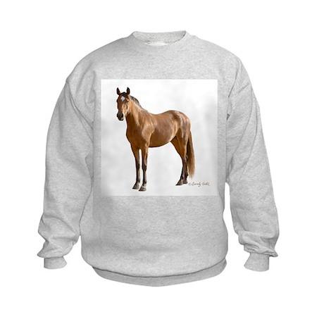 Lone Horse-- Kids Sweatshirt