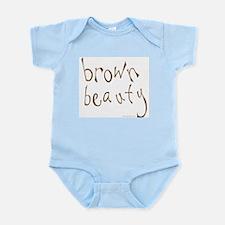 Brown Beauty Infant Bodysuit