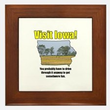 Visit Iowa . . . You Probably Framed Tile