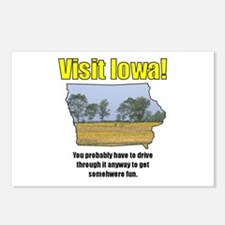 Visit Iowa . . . You Probably Postcards (Package o