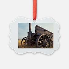 Saskatchewan. An old horse-drawn  Ornament