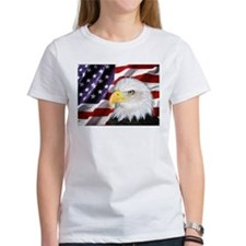 flag-eagle-banner2 T-Shirt