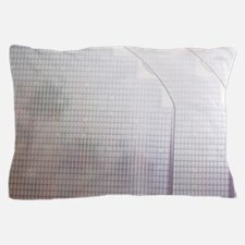 Semiconductor chips on silicon wafer d Pillow Case