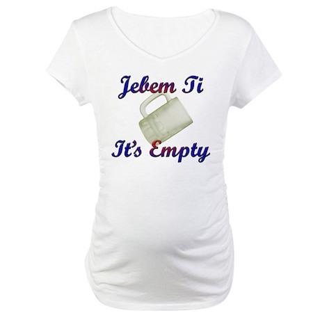 croatian Maternity T-Shirt