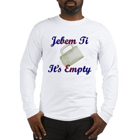 croatian Long Sleeve T-Shirt