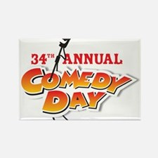 34th Annual Comedy Day Magnets