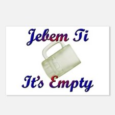 jebem ti Postcards (Package of 8)