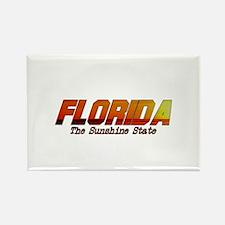 Florida . . . The Sunshine St Rectangle Magnet