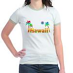 Hawaii Tropics Jr. Ringer T-Shirt