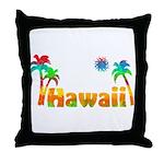 Hawaii Tropics Throw Pillow