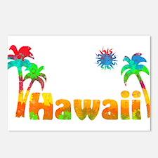 Hawaii Tropics Postcards (Package of 8)