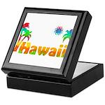Hawaii Tropics Keepsake Box