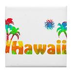 Hawaii Tropics Tile Coaster